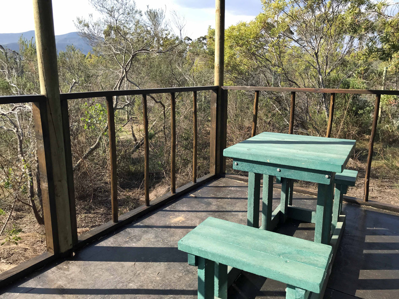 View from the lion cabins at Tenikwa